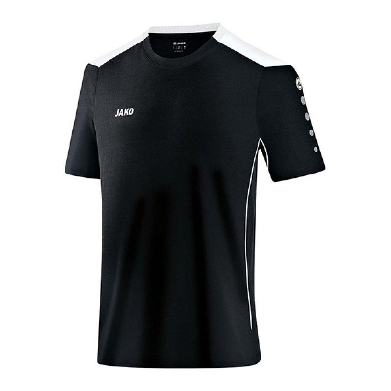 Jako T-Shirt Cup F08 Schwarz Weiss - schwarz