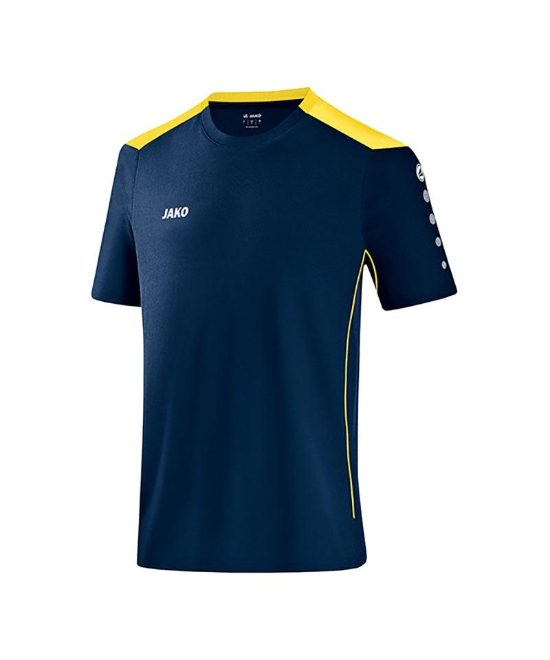 Jako T-Shirt Cup F42 Blau Gelb - blau