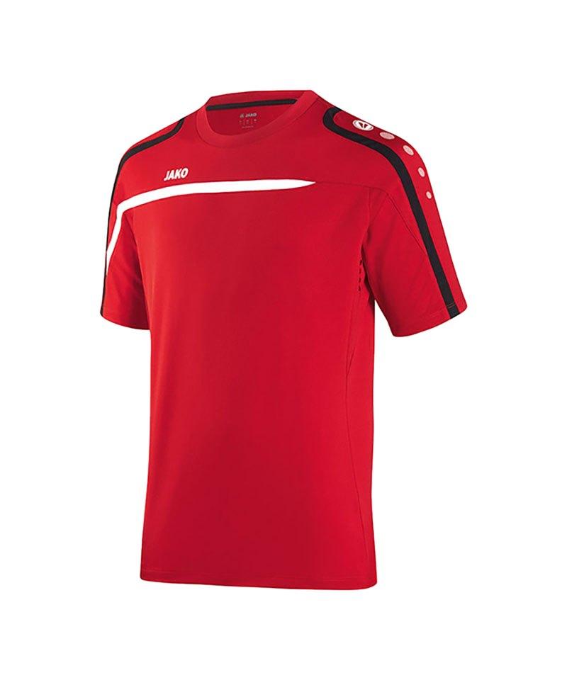 Jako T-Shirt Performance F01 Rot Weiss - rot
