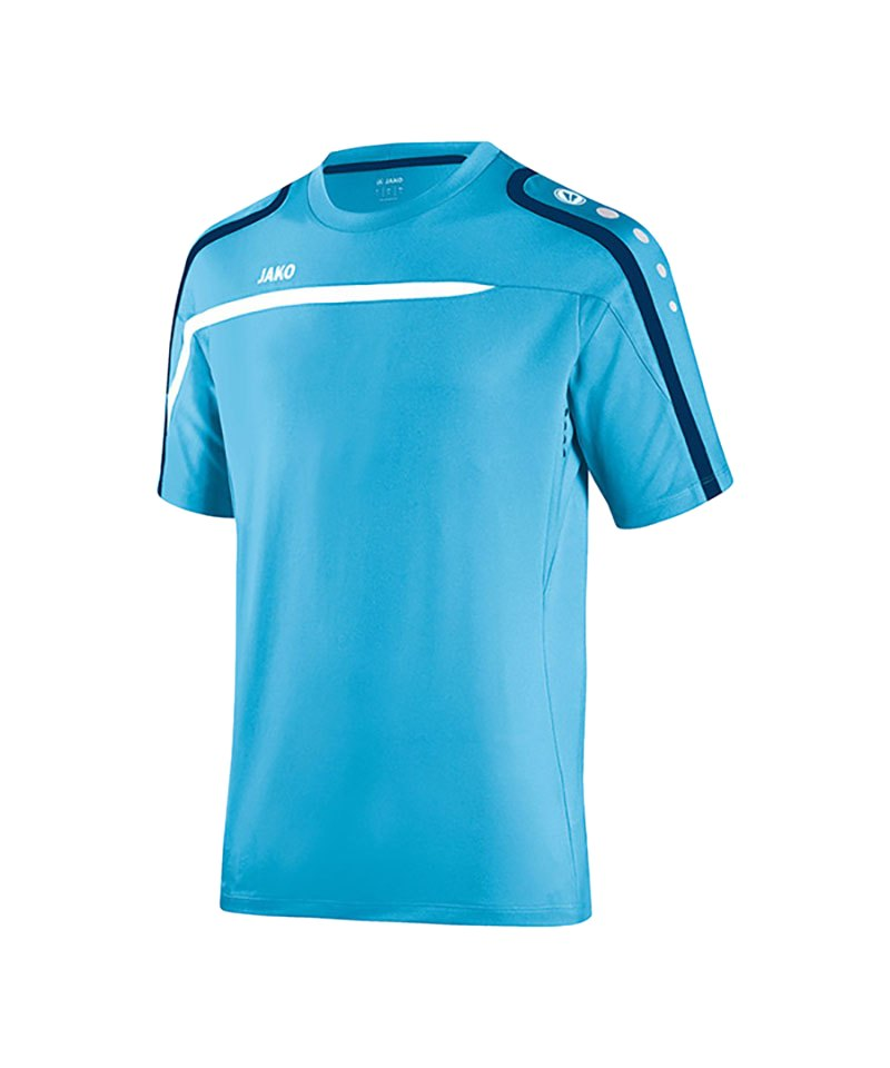 Jako T-Shirt Performance F45 Blau Weiss - blau