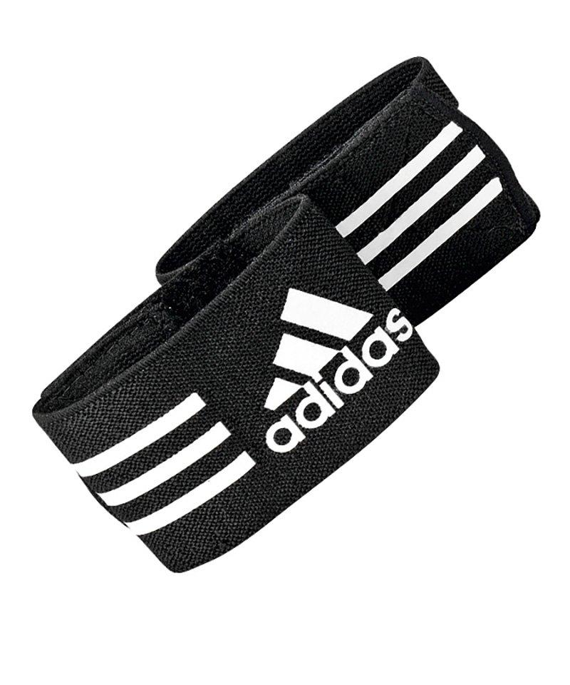 adidas Schienbeinschonerhalter Ankle Strap Schwarz - schwarz