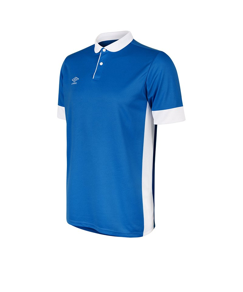 Umbro Trophy Jersey Trikot kurzarm Blau Weiss F070 - blau