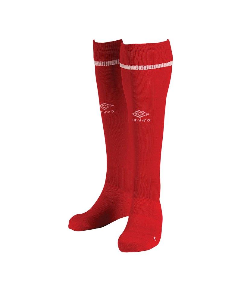 Umbro Tipped Socks Stutzen Kids Rot FA54 - rot