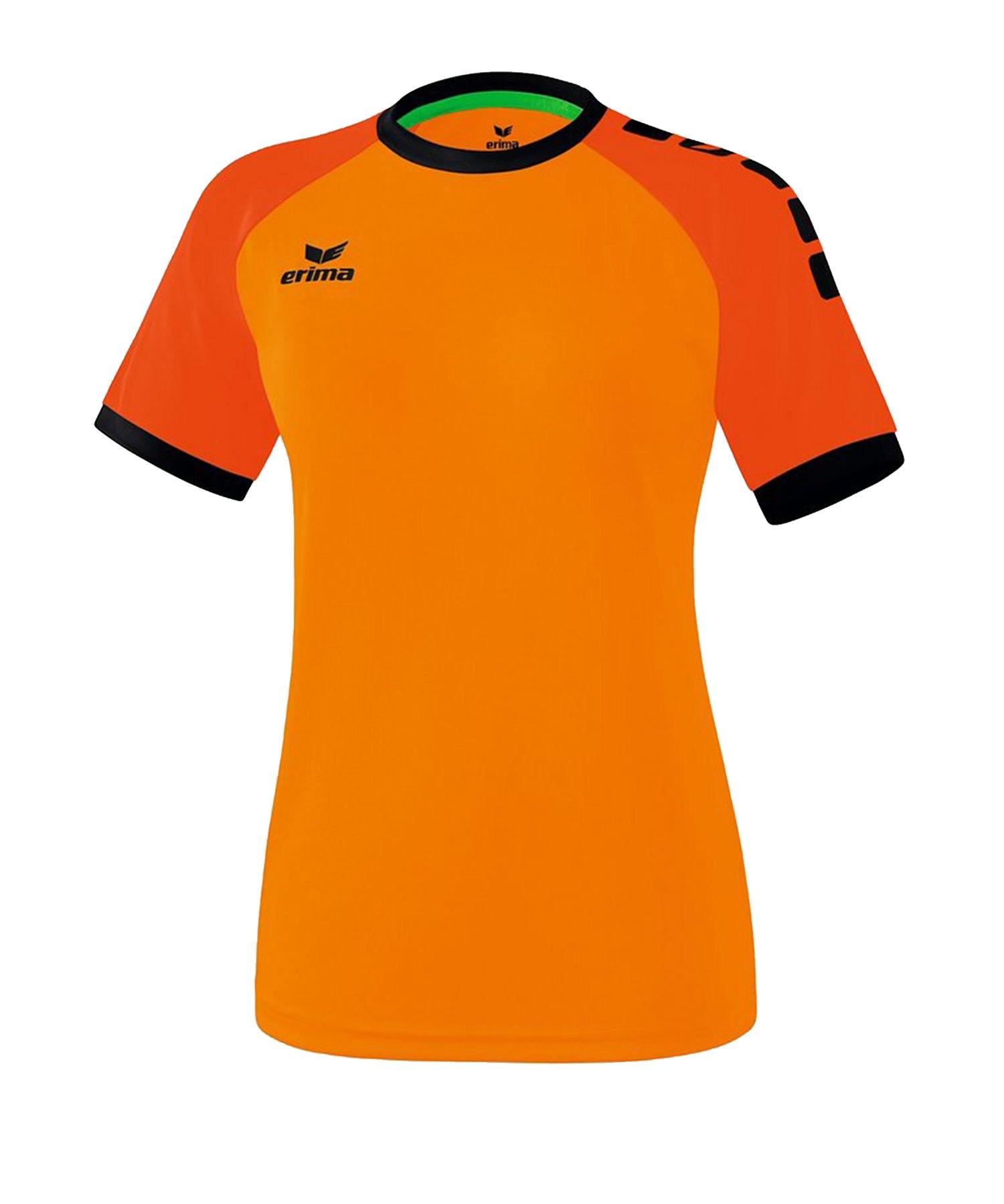 Erima Zenari 3.0 Trikot Damen Orange Schwarz - Orange