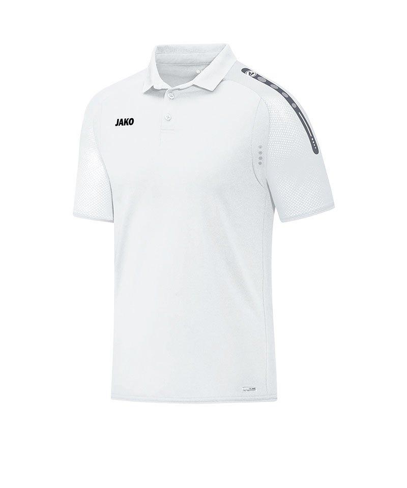 Jako Poloshirt Champ Weiss F00 - weiss