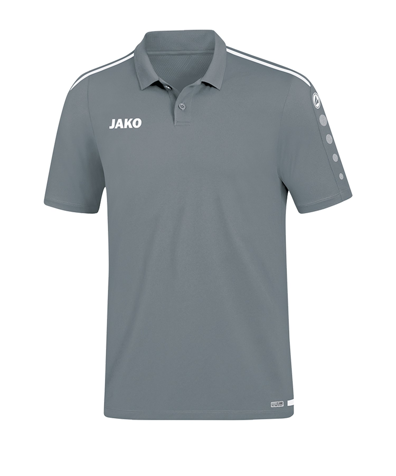 Jako Striker 2.0 Poloshirt Grau Weiss F40 - Grau