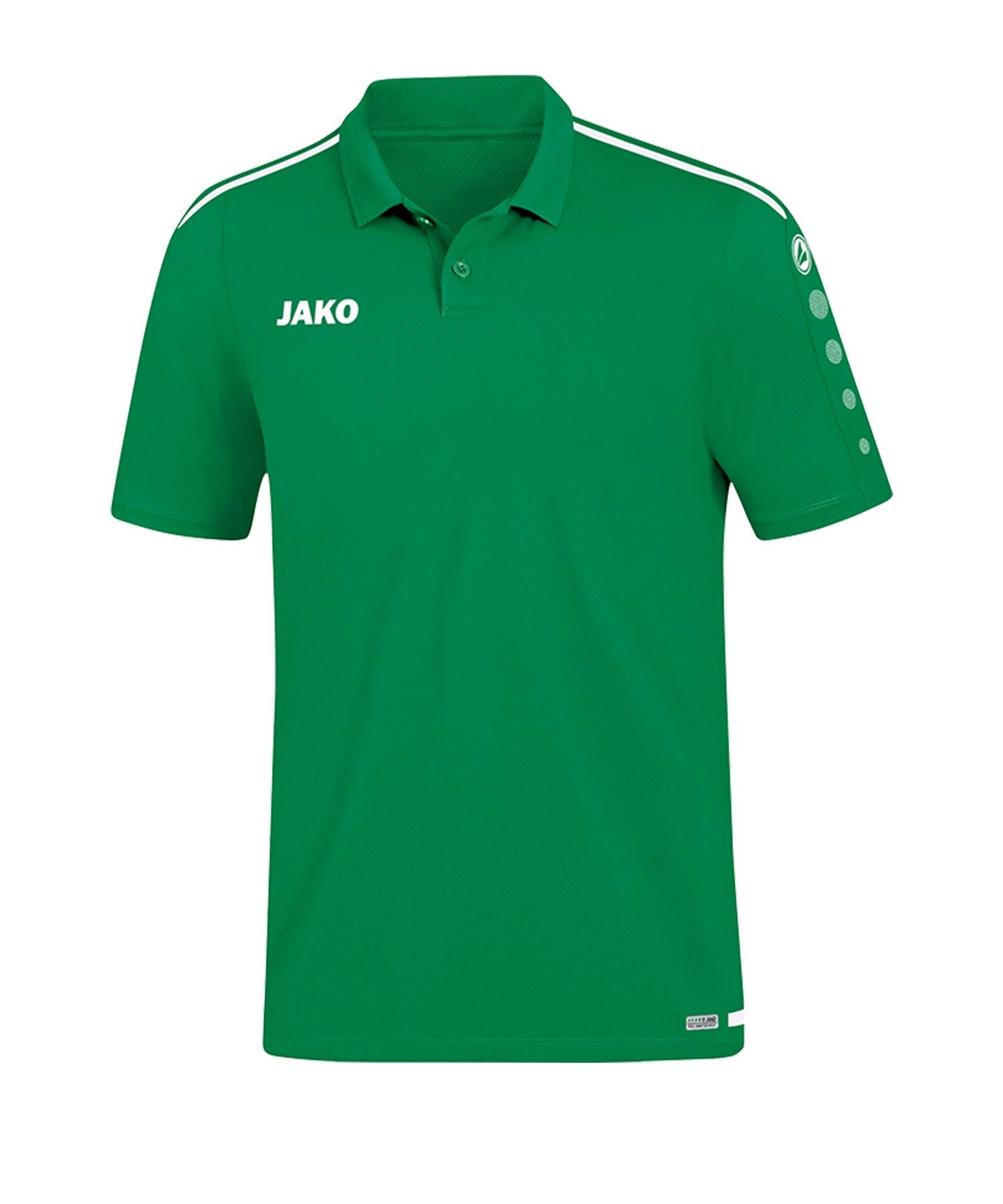Jako Striker 2.0 Poloshirt Grün Weiss F06 - Gruen