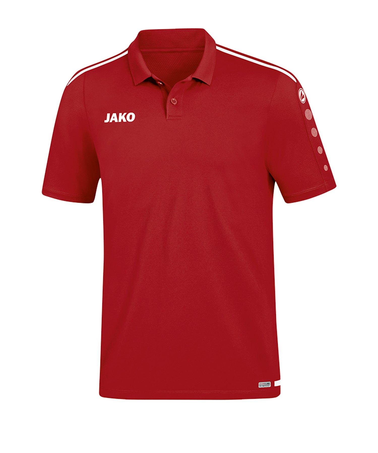 Jako Striker 2.0 Poloshirt Rot Weiss F11 - Rot