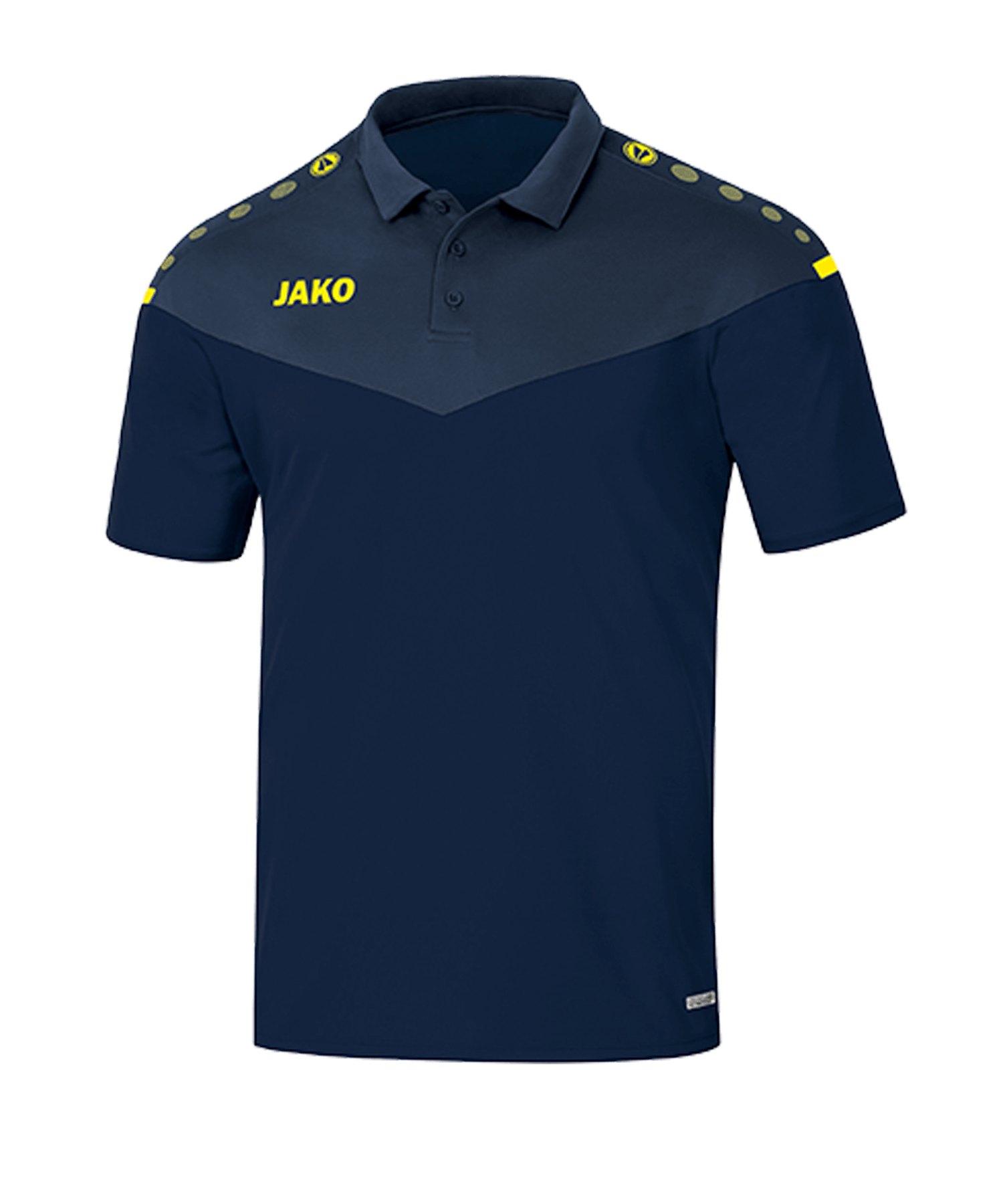 Jako Champ 2.0 Poloshirt Blau F93 - blau