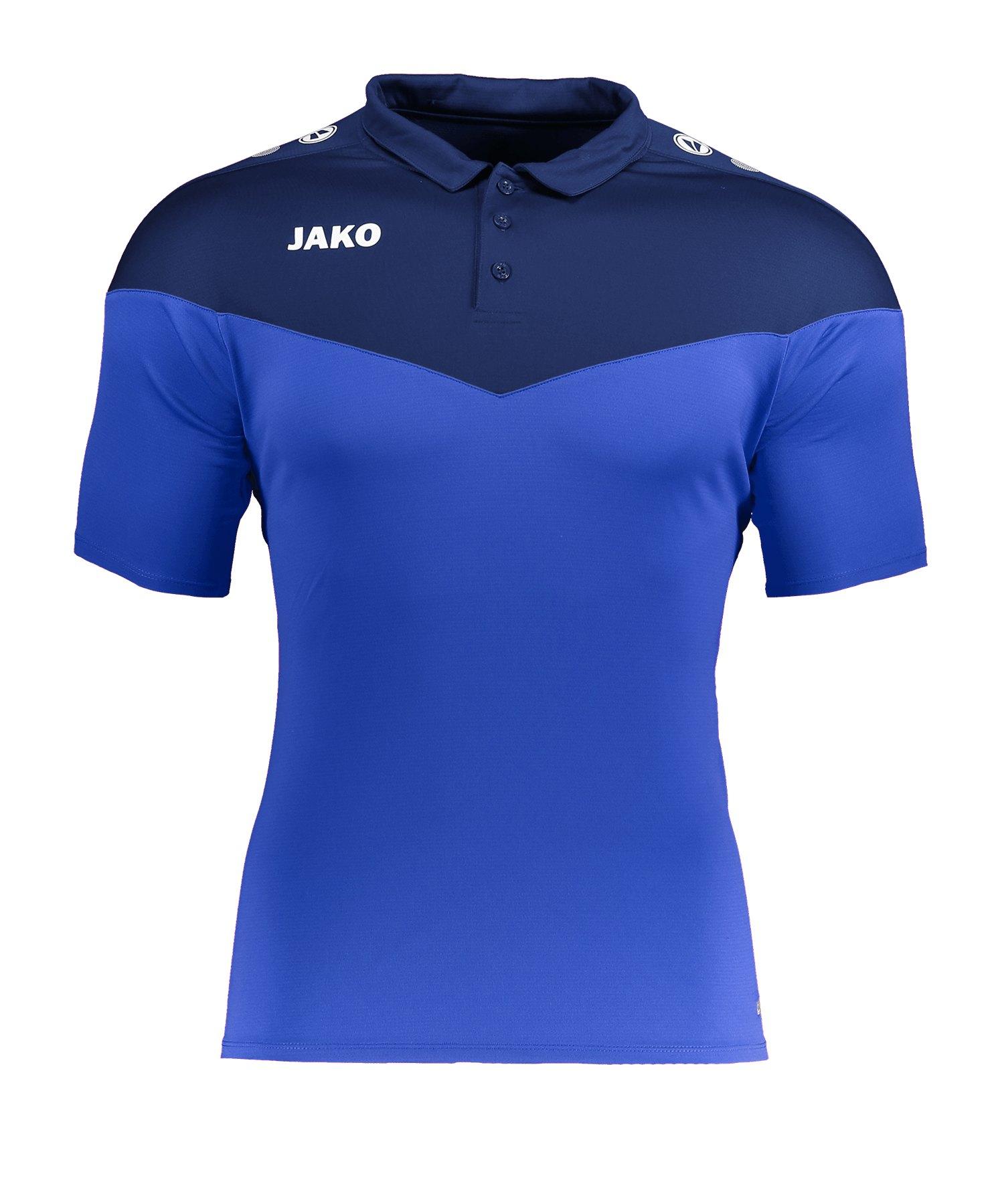Jako Champ 2.0 Poloshirt Damen Blau F49 - blau