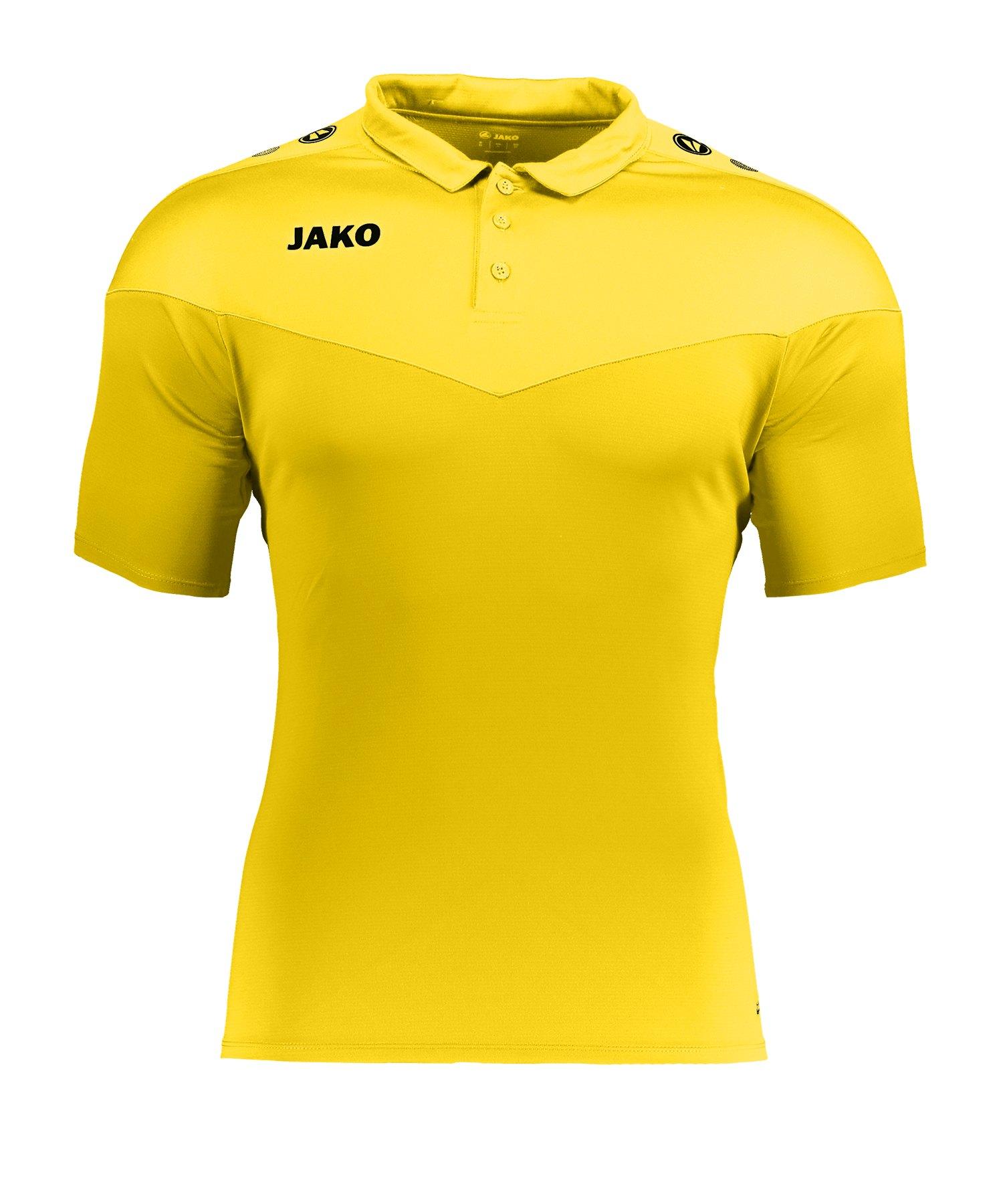 Jako Champ 2.0 Poloshirt Damen Gelb F03 - gelb