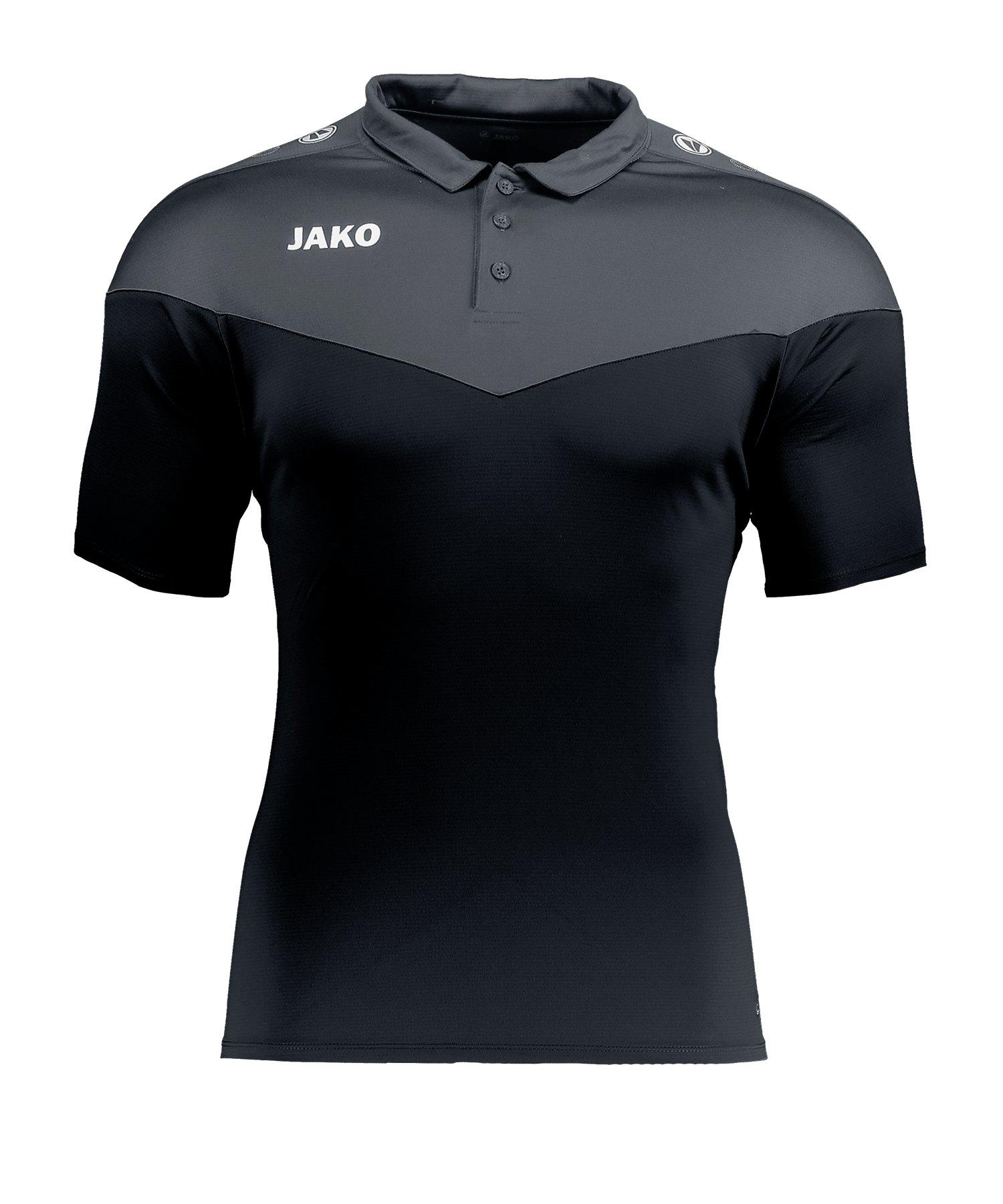 Jako Champ 2.0 Poloshirt Schwarz F08 - schwarz