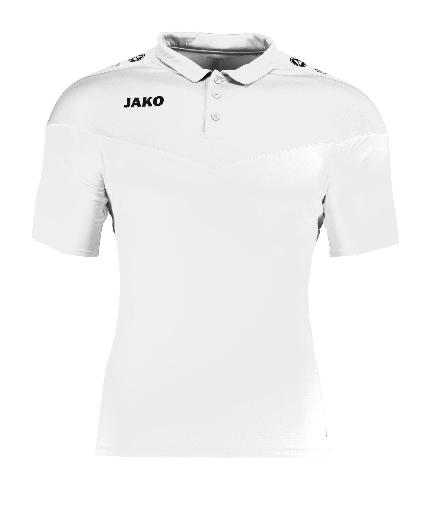 Jako Champ 2.0 Poloshirt Weiss F00 - weiss