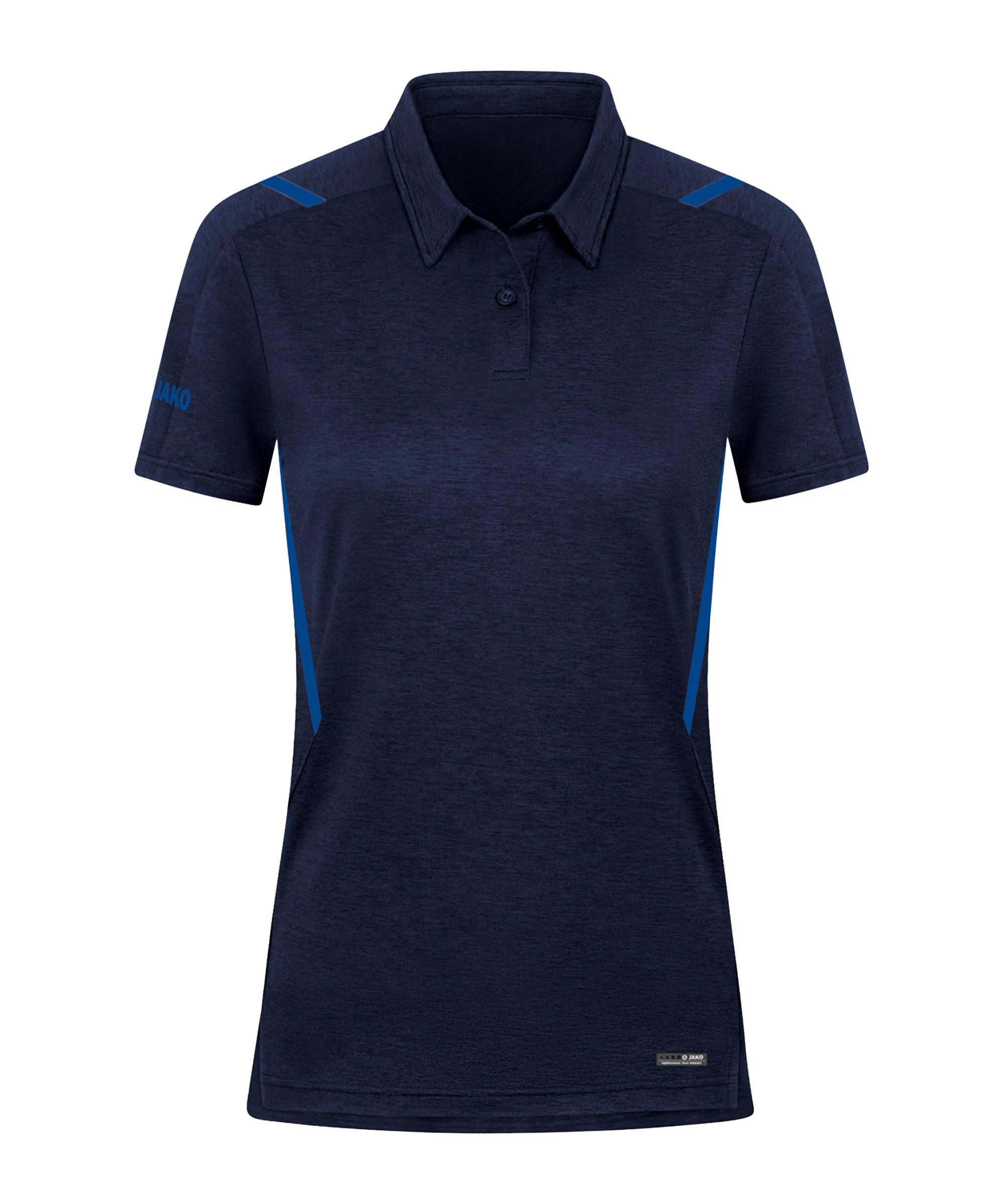 JAKO Challenge Polo Damen Blau F511 - blau