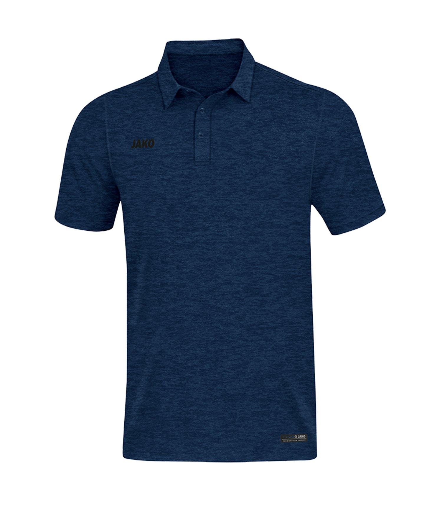 Jako Premium Basics Poloshirt Blau F49 - Blau