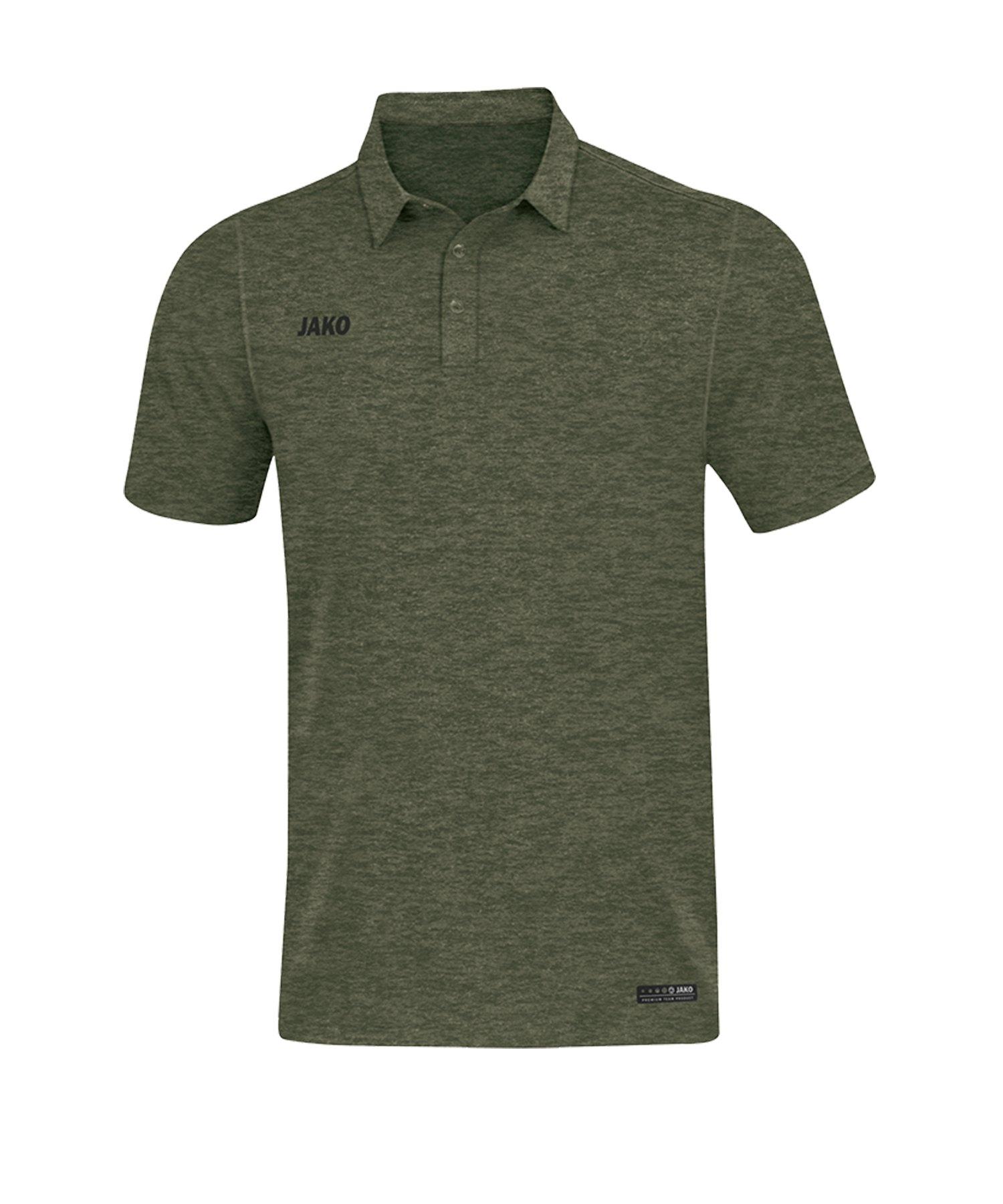 Jako Premium Basics Poloshirt Khaki F28 - Khaki
