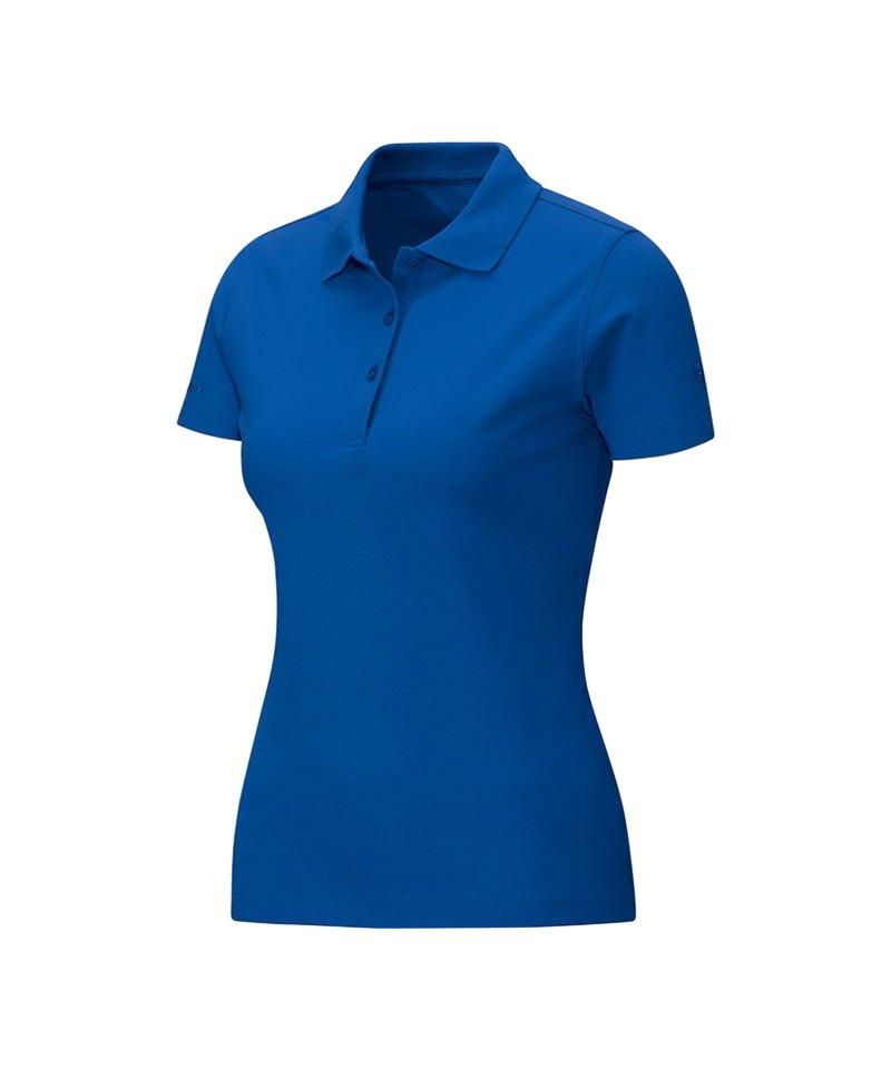 Jako Poloshirt Classic Damen Blau F04 - blau