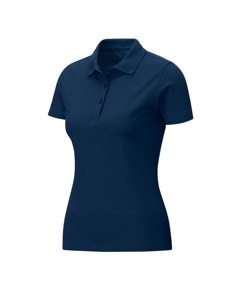 Jako Poloshirt Classic Damen Blau F09 - blau