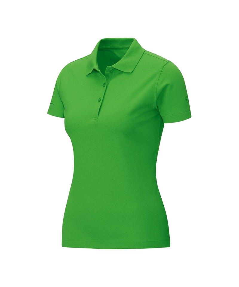 Jako Poloshirt Classic Damen Grün F22 - gruen