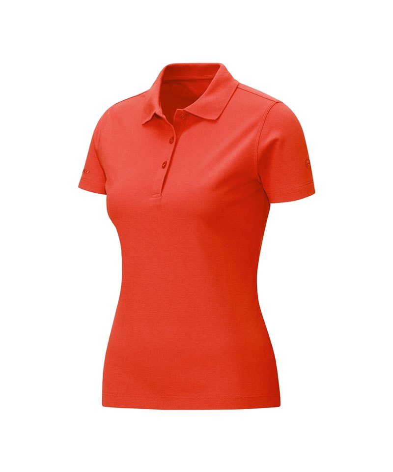 Jako Poloshirt Classic Damen Orange F18 - orange