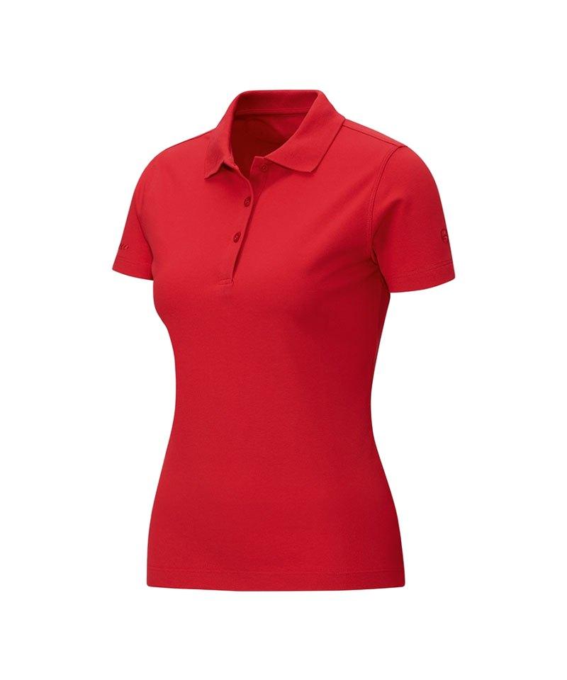 Jako Poloshirt Classic Damen Rot F01 - rot