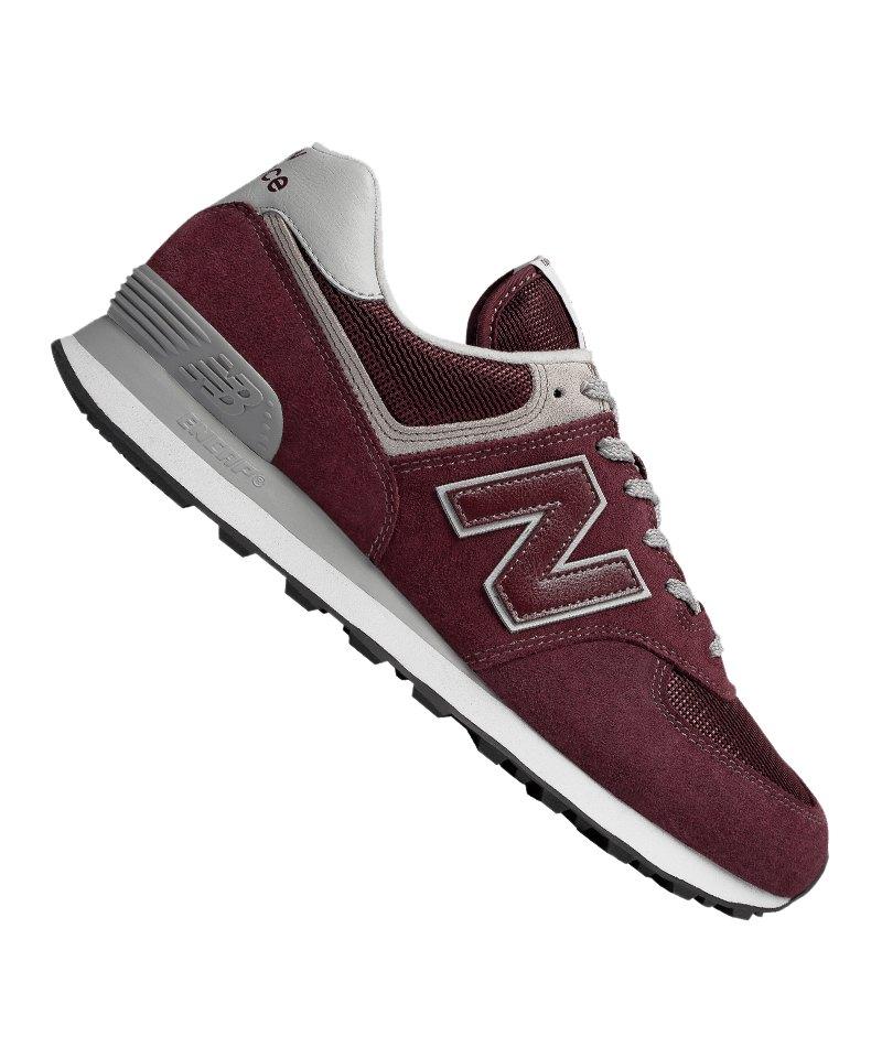 New Balance ML574 Sneaker Dunkelrot F18 - rot