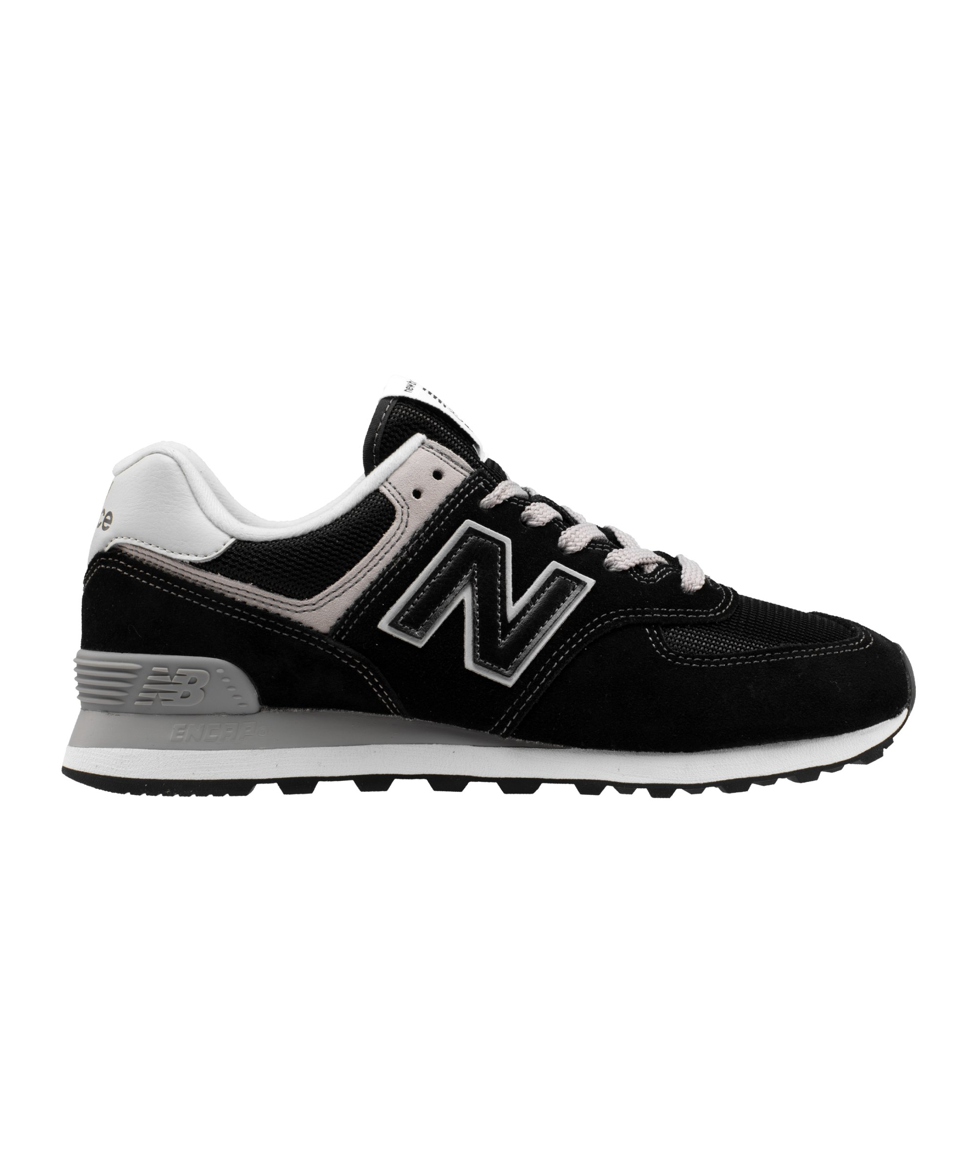 New Balance ML574 Sneaker Schwarz F122 - schwarz