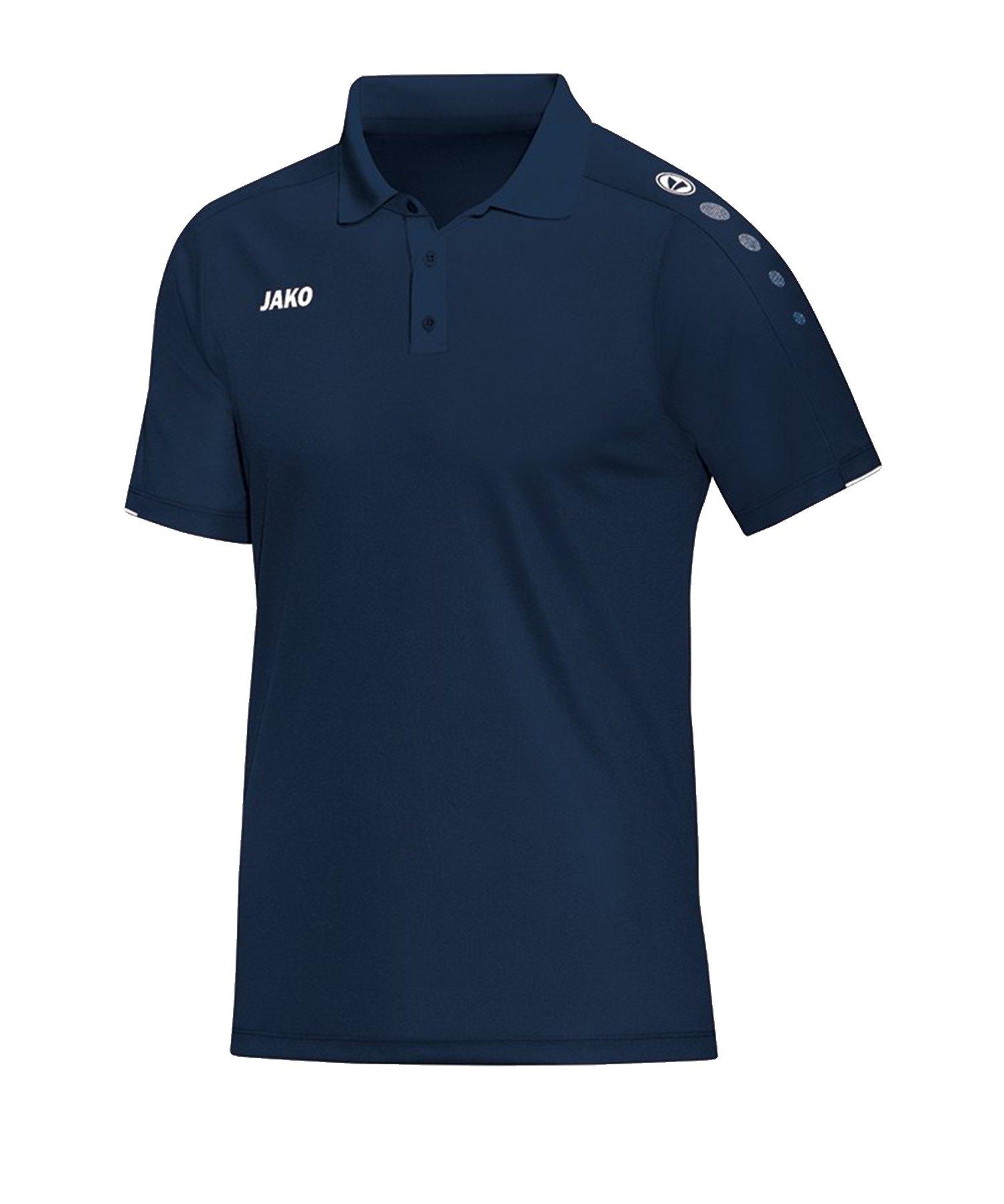 Jako Classico Poloshirt Blau F09 - Blau