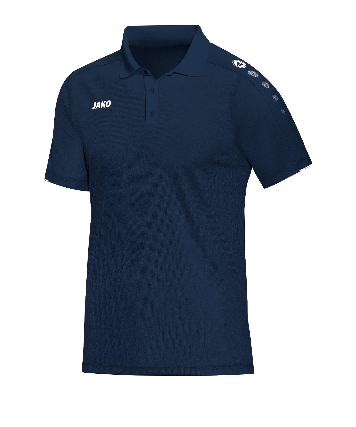 Jako Classico Poloshirt Damen Blau F09 - Blau