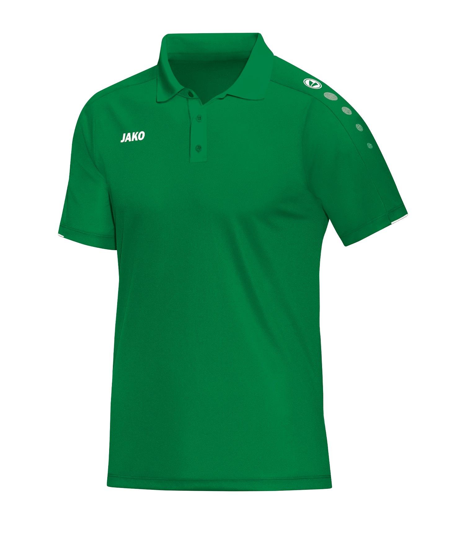 Jako Classico Poloshirt Grün F06 - Gruen
