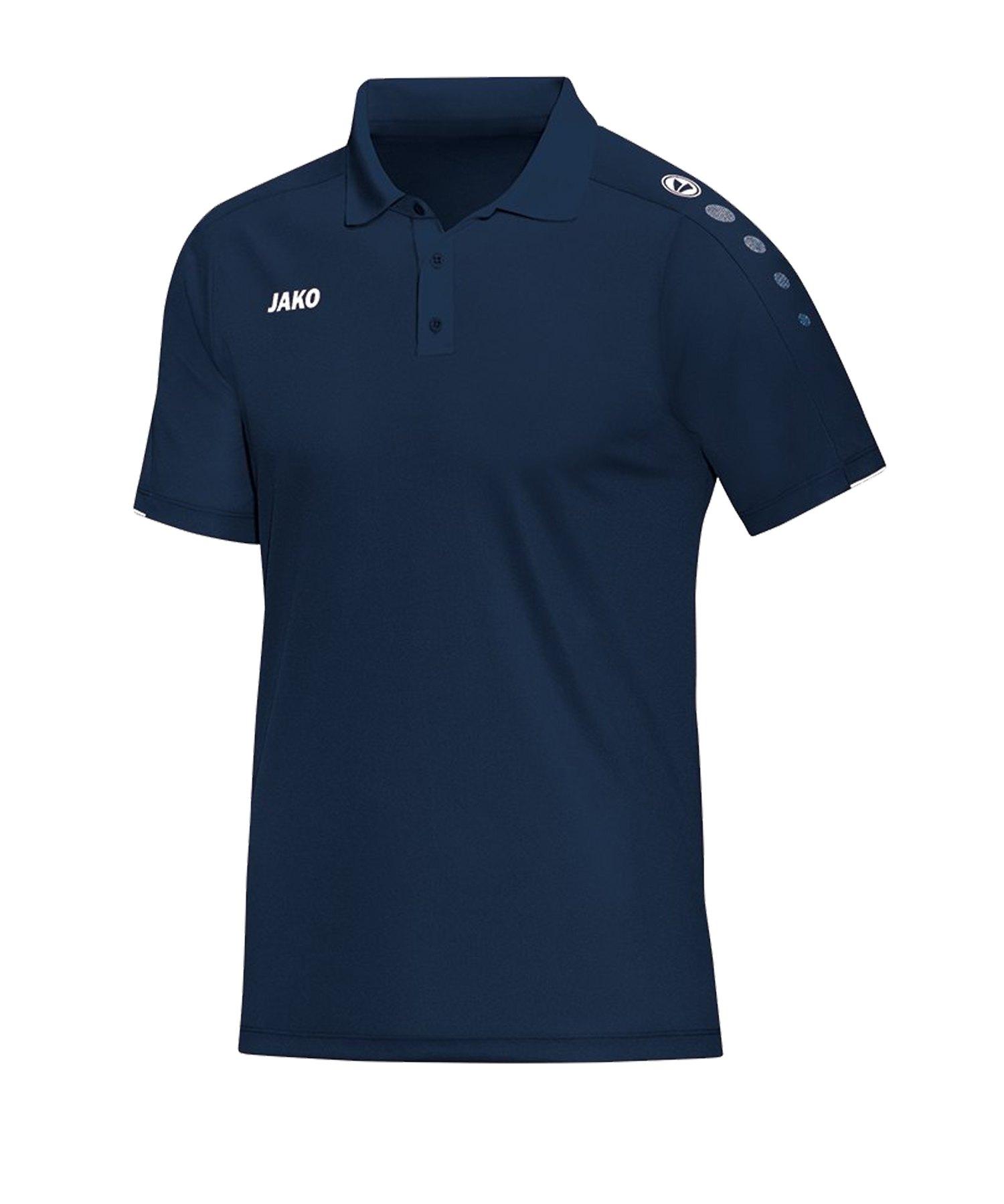 Jako Classico Poloshirt Kids Blau F09 - Blau