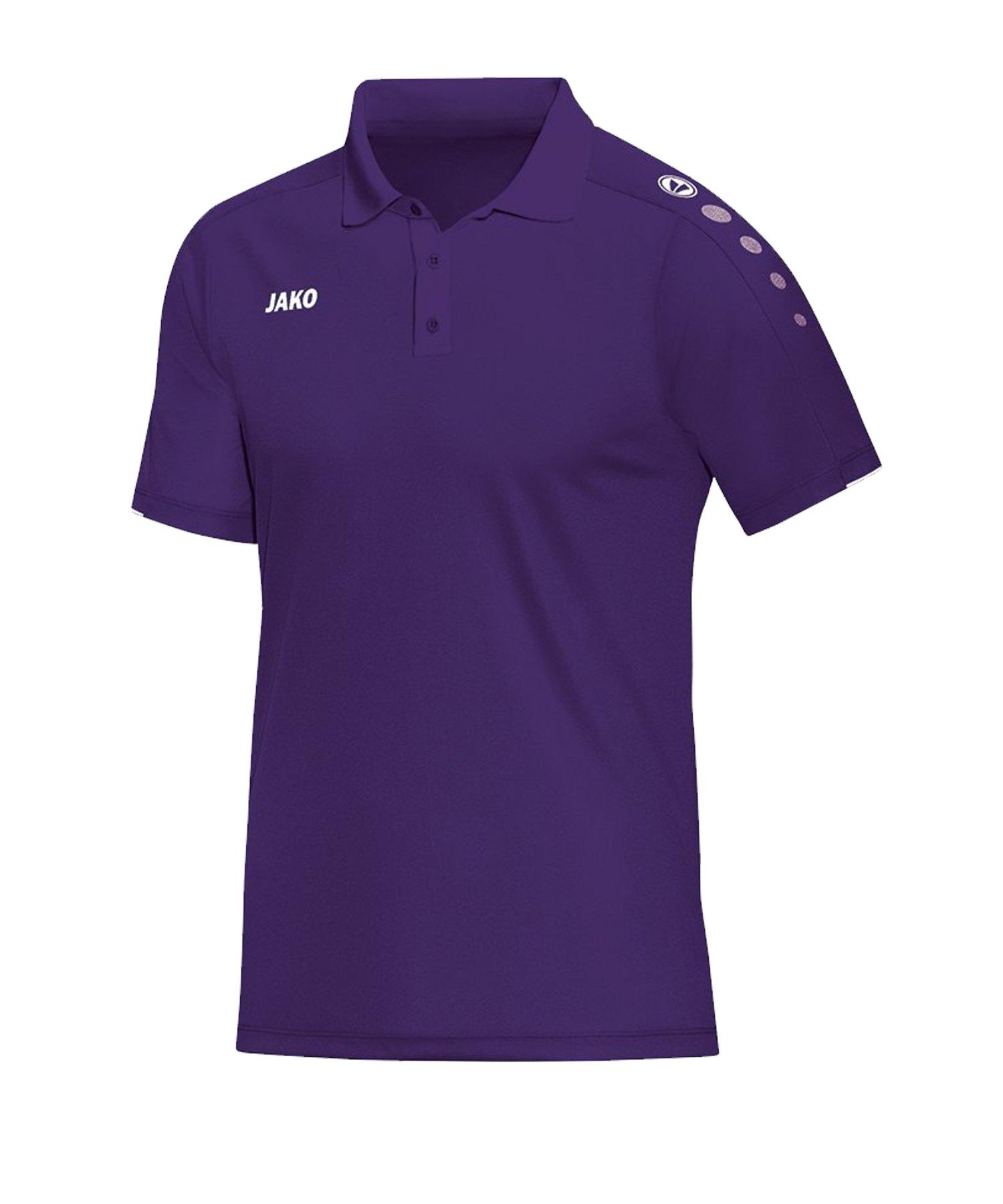 Jako Classico Poloshirt Lila F10 - Lila