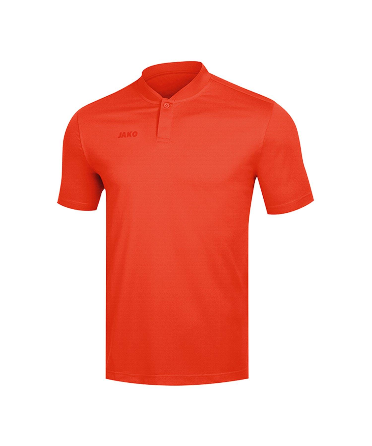 Jako Prestige Poloshirt Damen Orange F18 - Orange