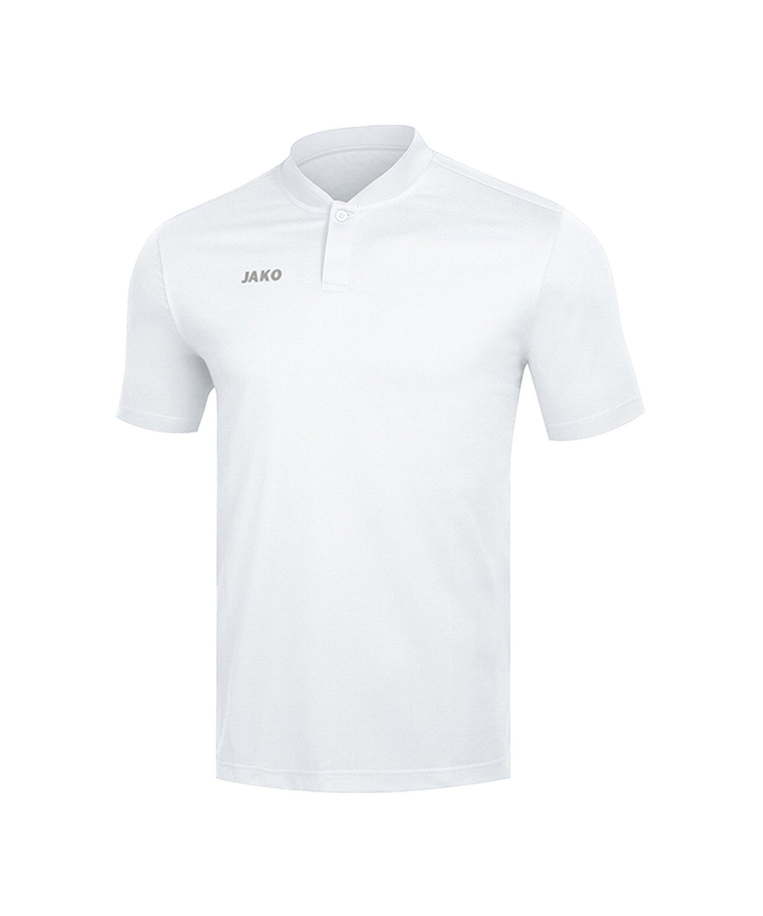 Jako Prestige Poloshirt Damen Weiss F00 - Weiss