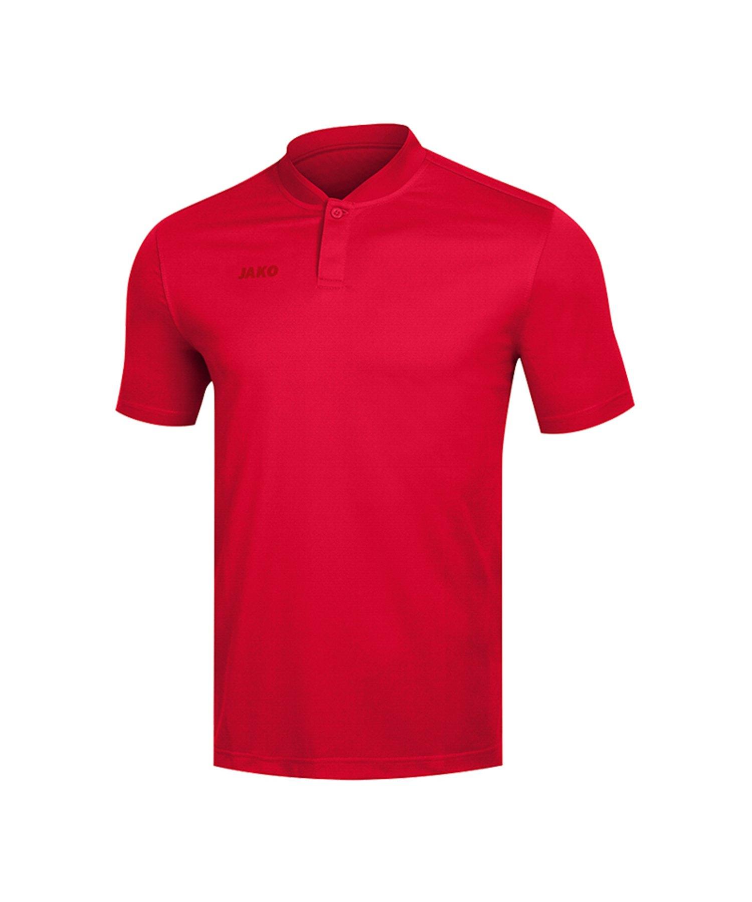 Jako Prestige Poloshirt Rot F01 - Rot