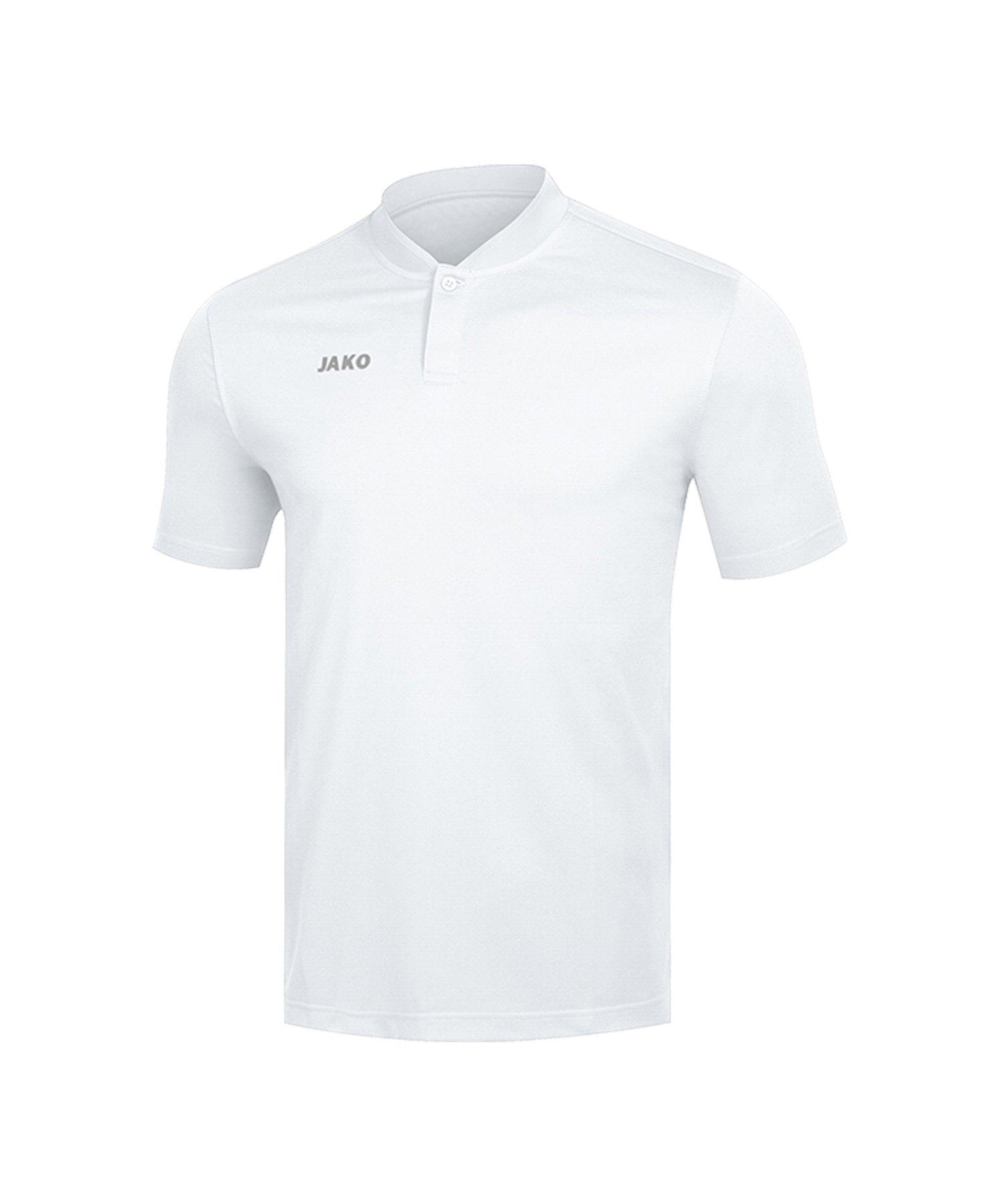 Jako Prestige Poloshirt Weiss F00 - Weiss