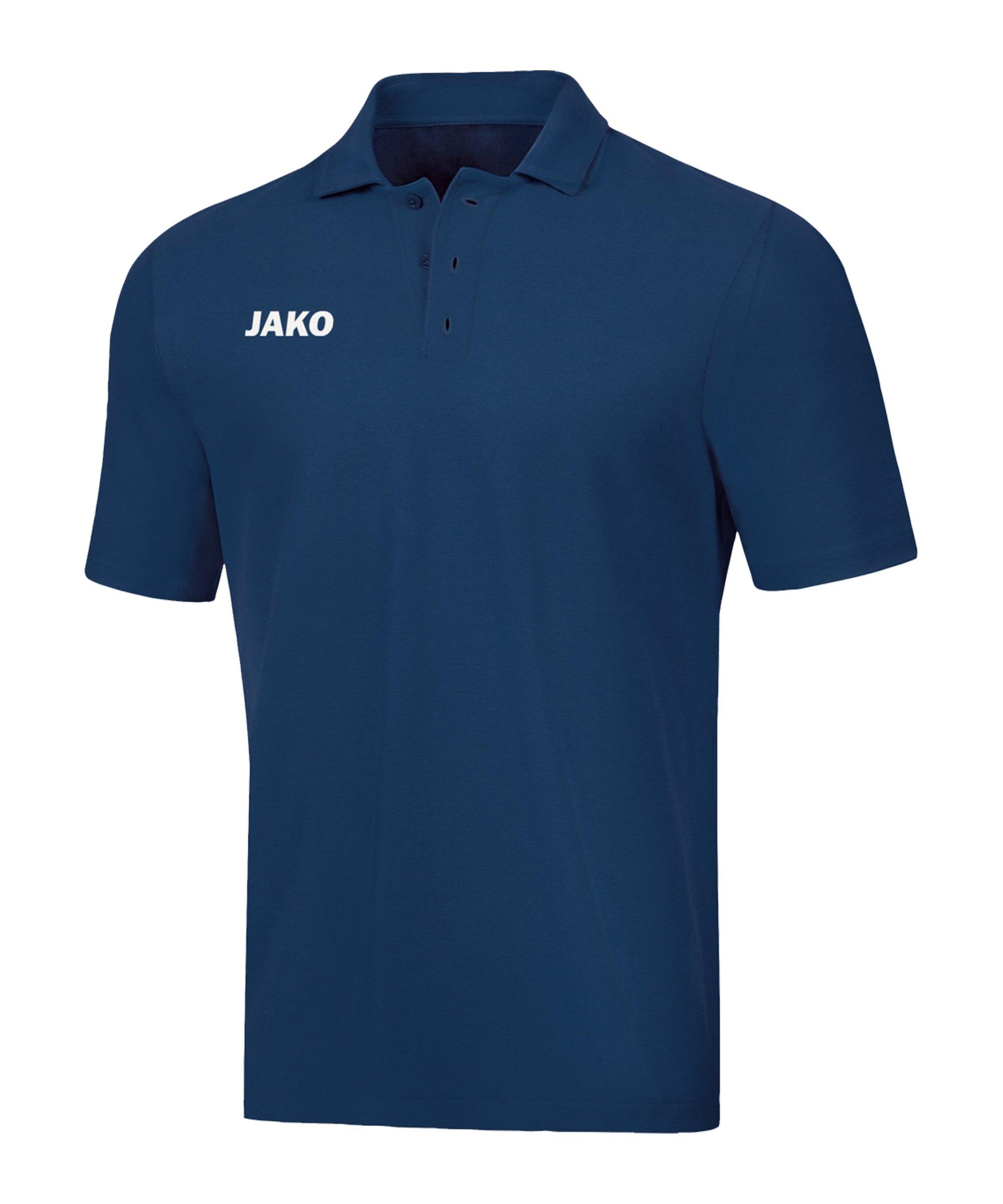JAKO Base Poloshirt Damen Blau F09 - blau