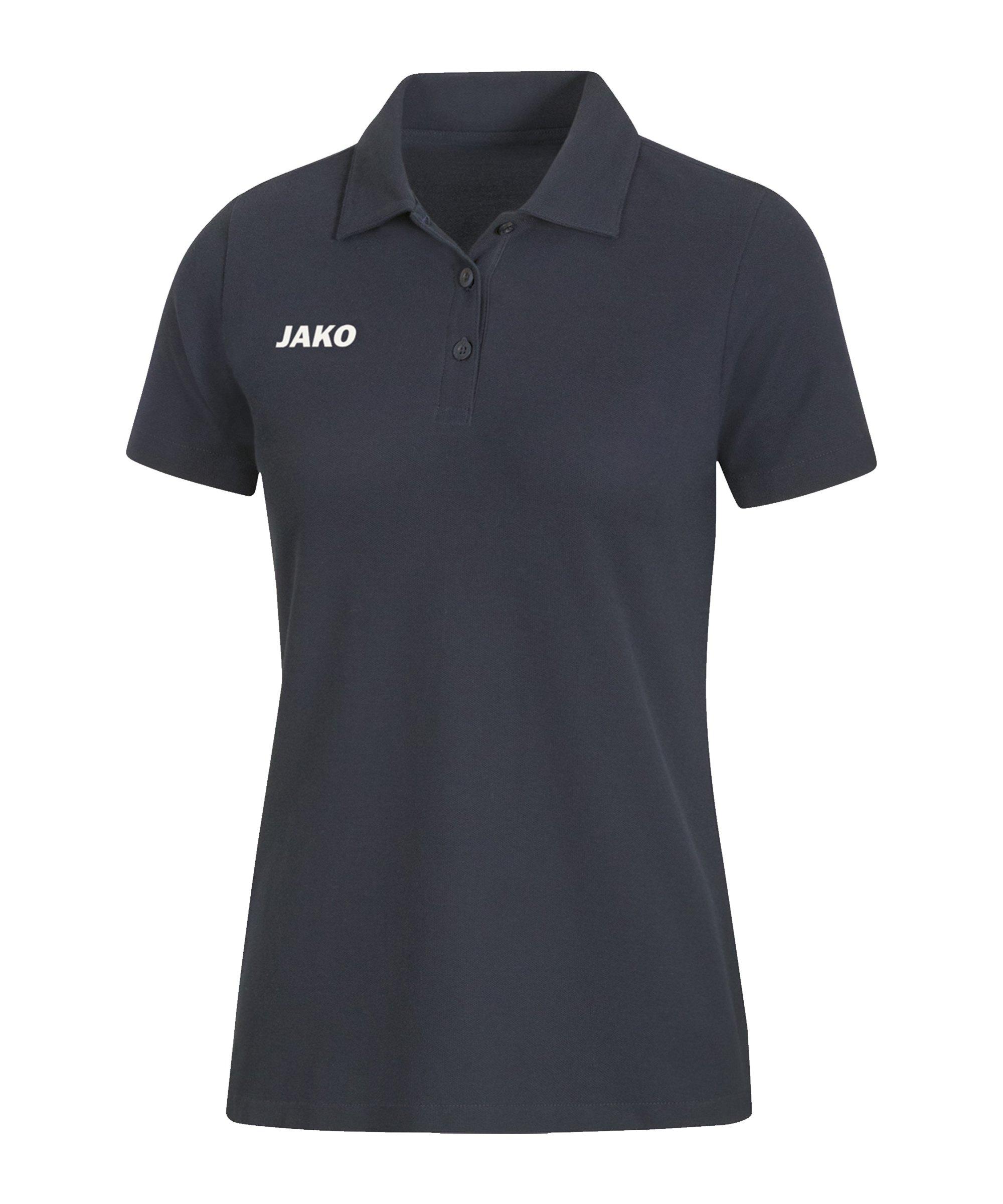 JAKO Base Poloshirt Damen Grau F21 - grau