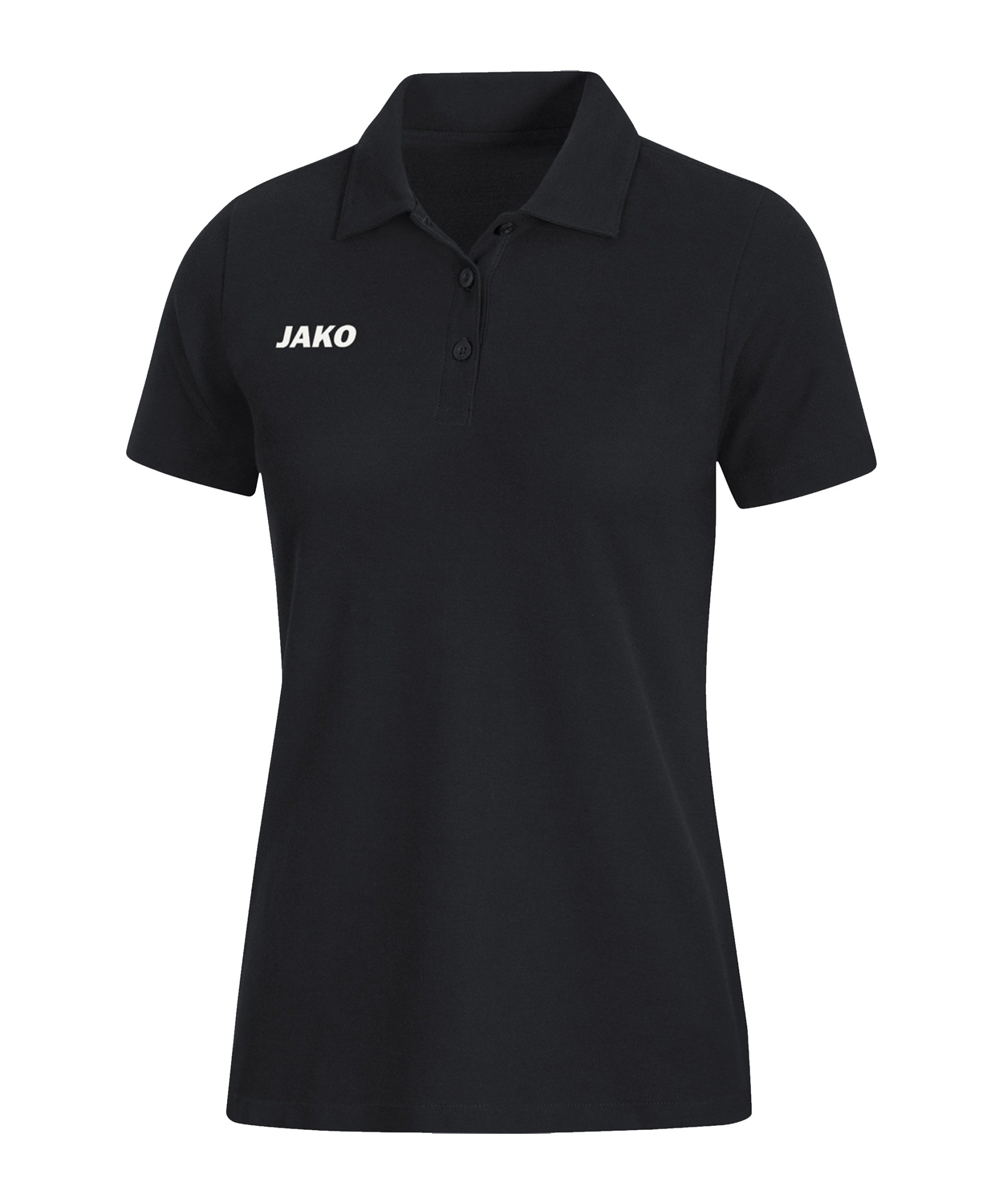 JAKO Base Poloshirt Damen Schwarz F08 - schwarz
