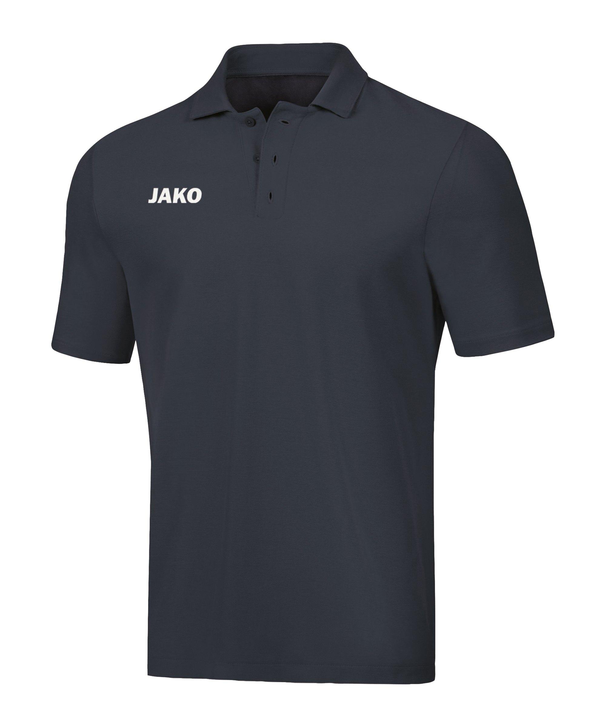 JAKO Base Poloshirt Grau F21 - grau