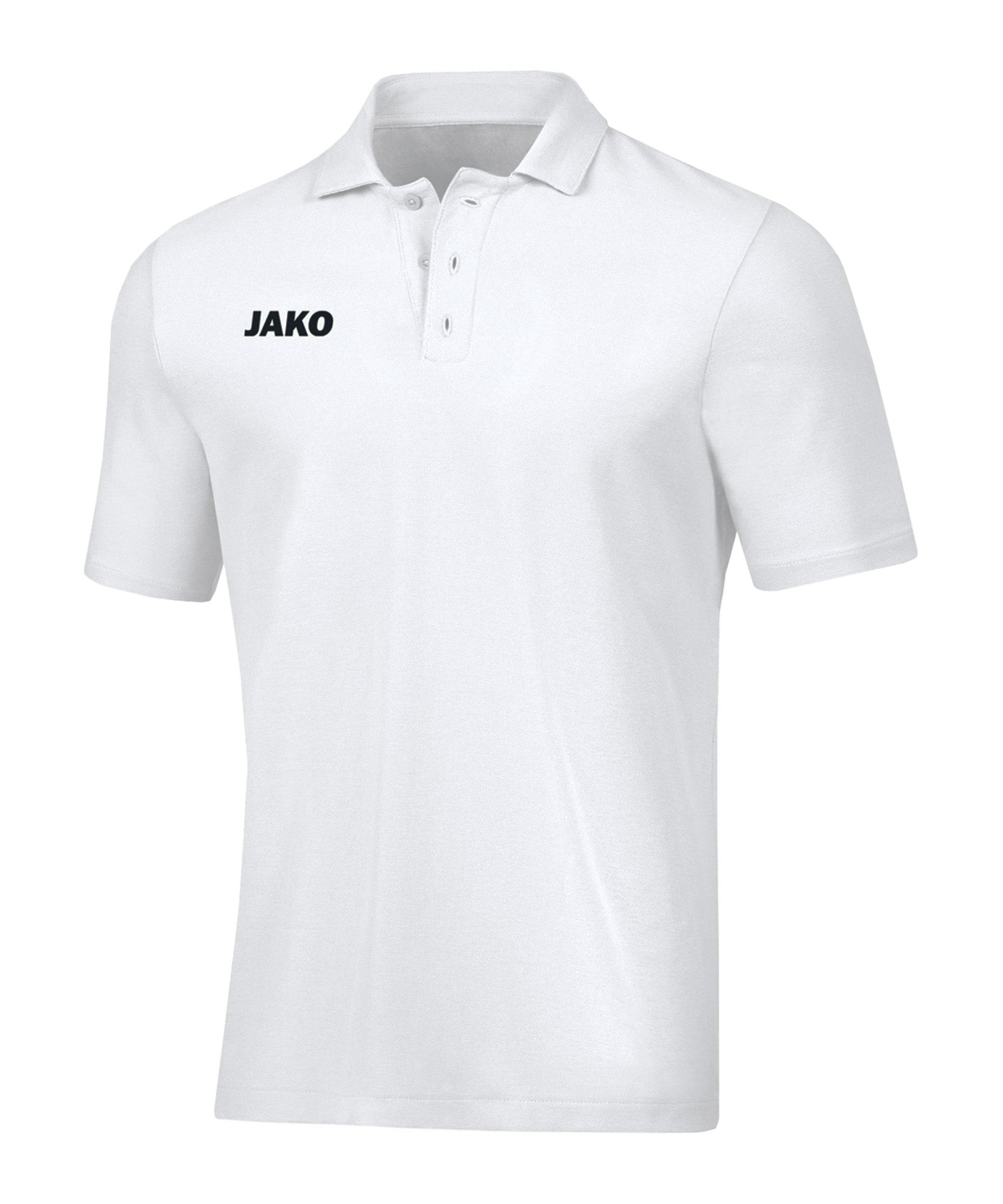 JAKO Base Poloshirt Kids Weiss F00 - weiss