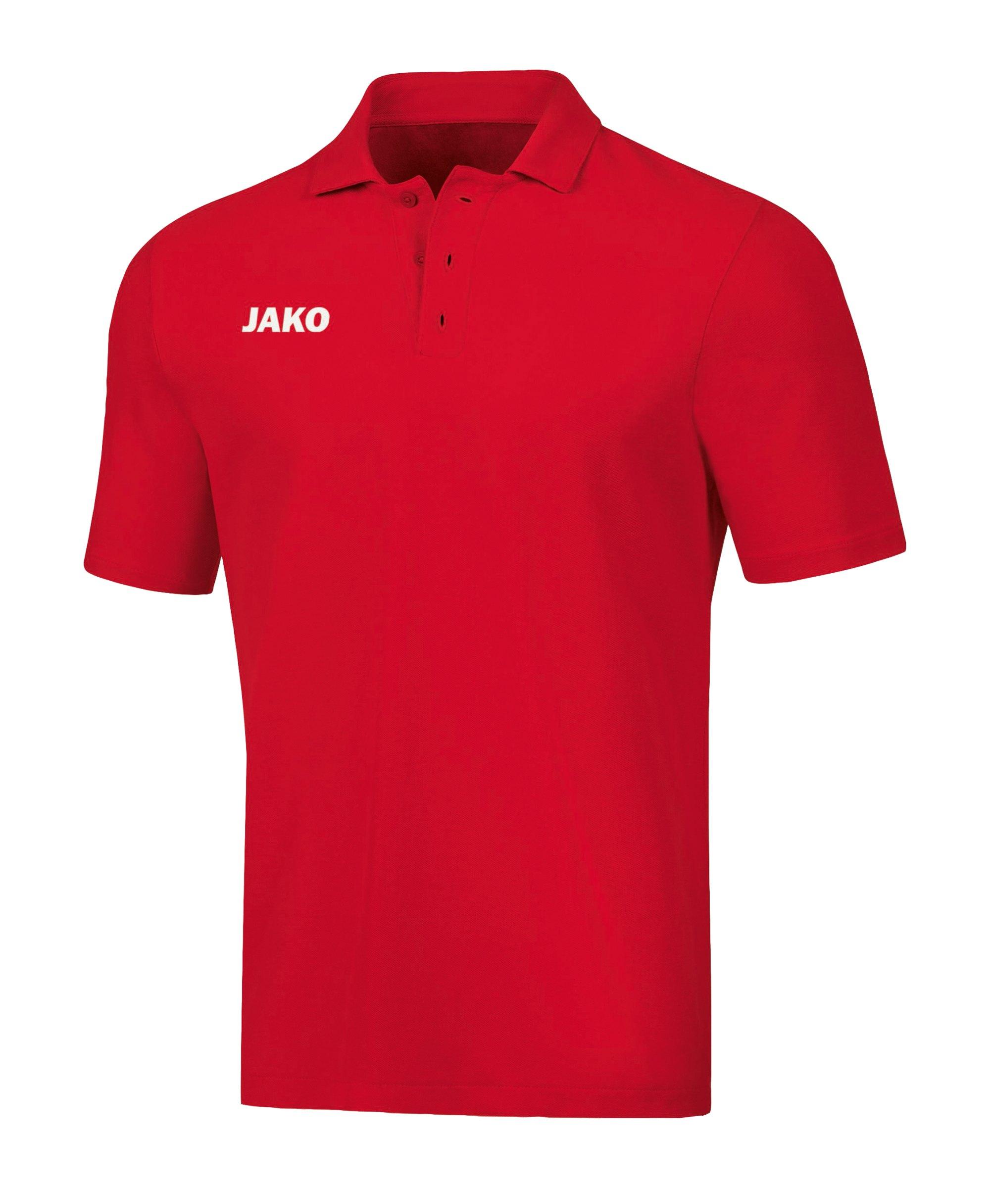 JAKO Base Poloshirt Rot F01 - rot