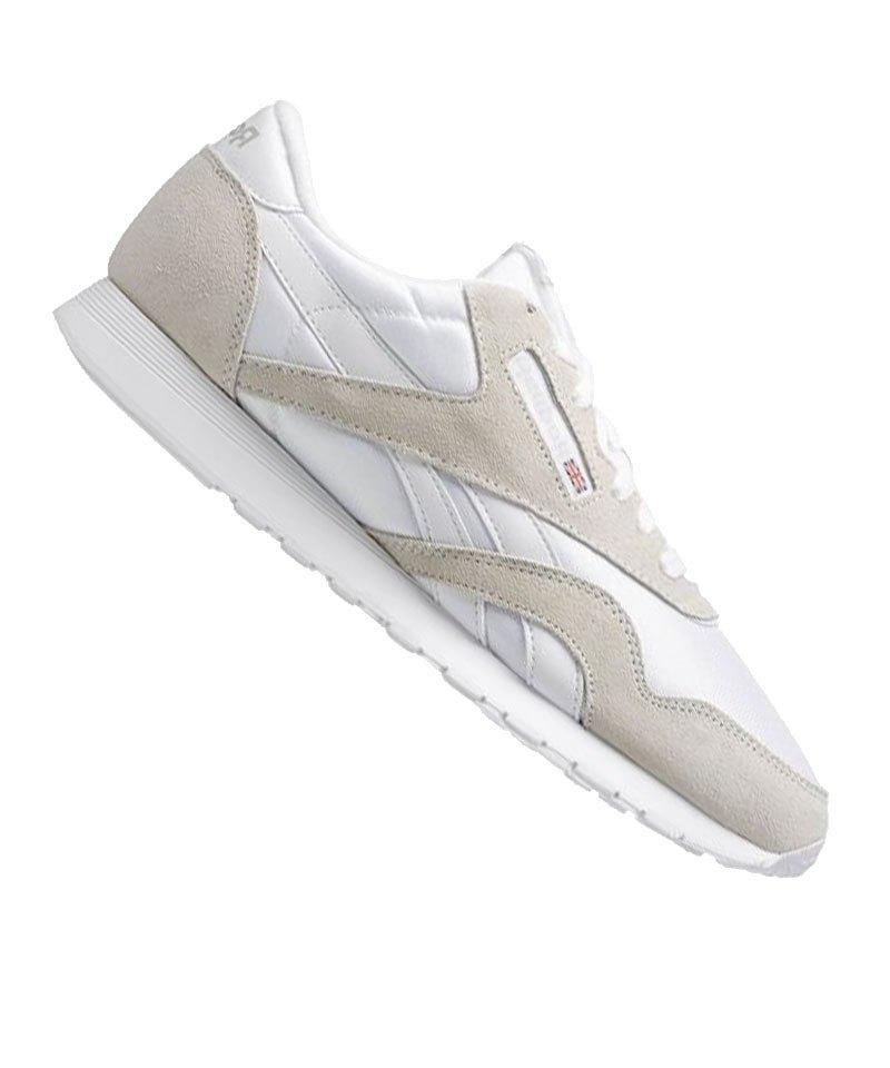 wholesale dealer de1bc ae289 Reebok Sneaker Classic Nylon Weiss