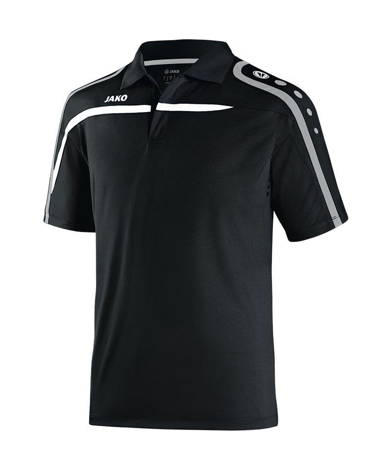 Jako Poloshirt Performance Kinder F08 Schwarz - schwarz