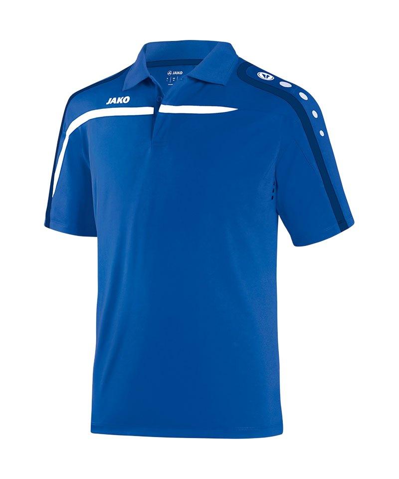 Jako Poloshirt Performance Kinder F49 Blau - blau