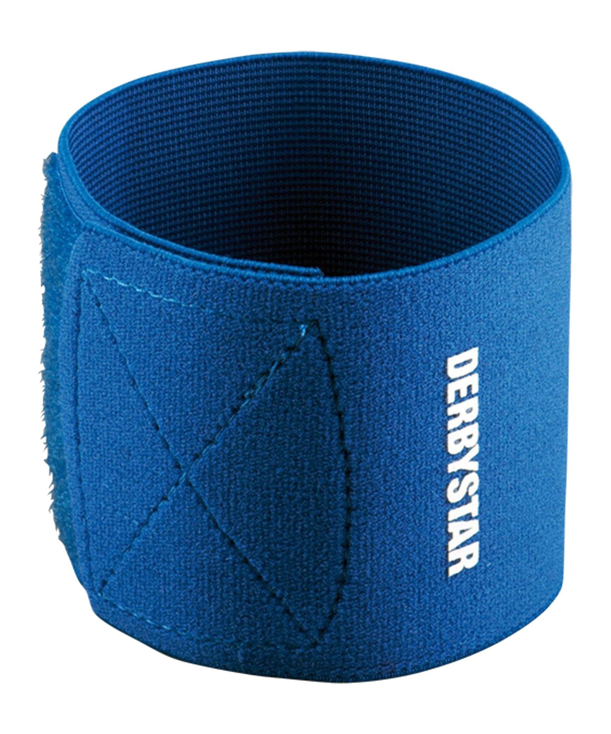 Derbystar Schienbeinschützer-Halter Blau F600 - blau