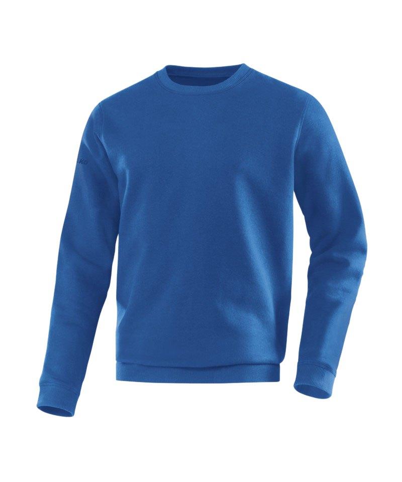 Jako Sweatshirt Team Sweat Blau F04 - blau