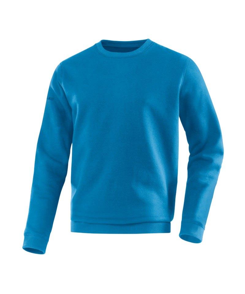 Jako Sweatshirt Team Sweat Blau F89 - blau