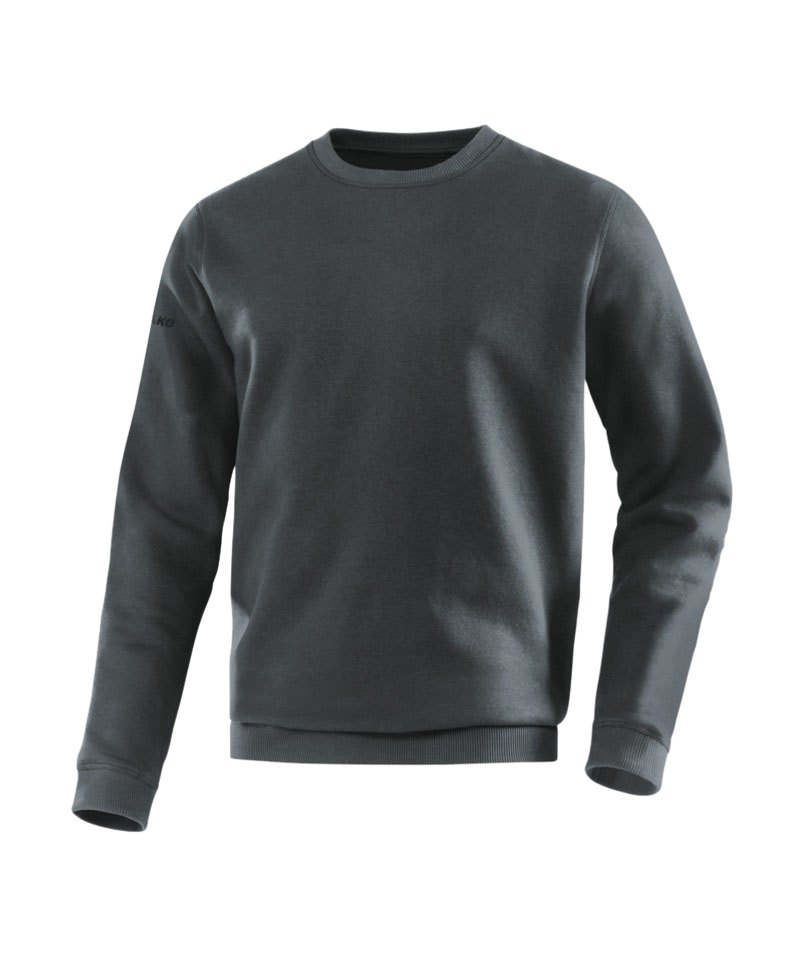 Jako Sweatshirt Team Sweat Dunkelgrau F21 - grau