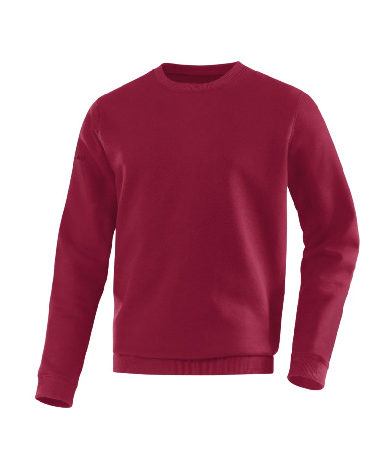 Jako Sweatshirt Team Sweat Kinder Dunkelrot F14 - rot